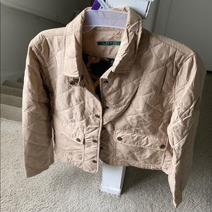 Lauren Ralph Lauren Medium woman beige jacket